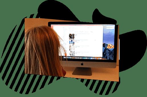 trabajando el SEO en el Mac